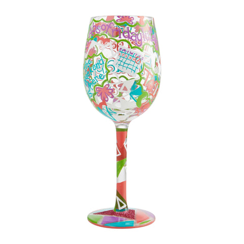 Lolita Days of the Week Wine Glasses