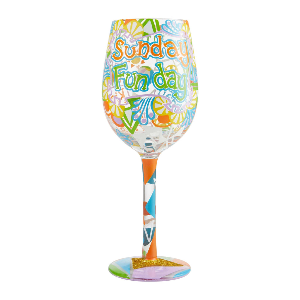 Lolita Days of the Week Wine Glasses | Time Your Gift