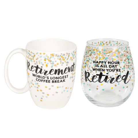 Retired Mug and Gift Set