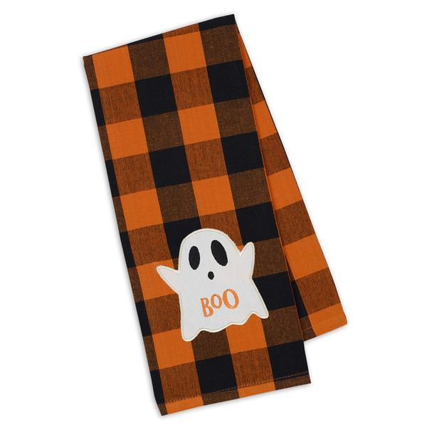 Ghost Embellished Dishtowel
