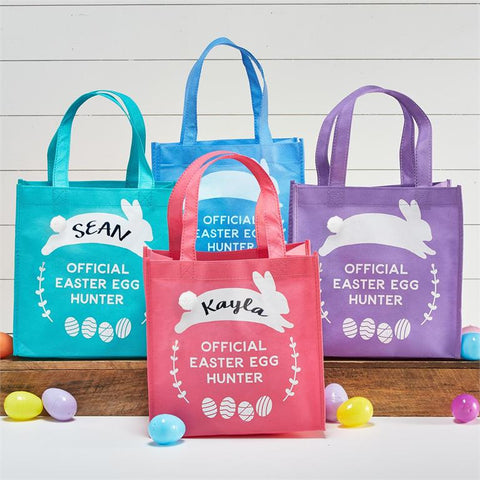 Easter Egg Hunt Tote Bags (Set of 4)