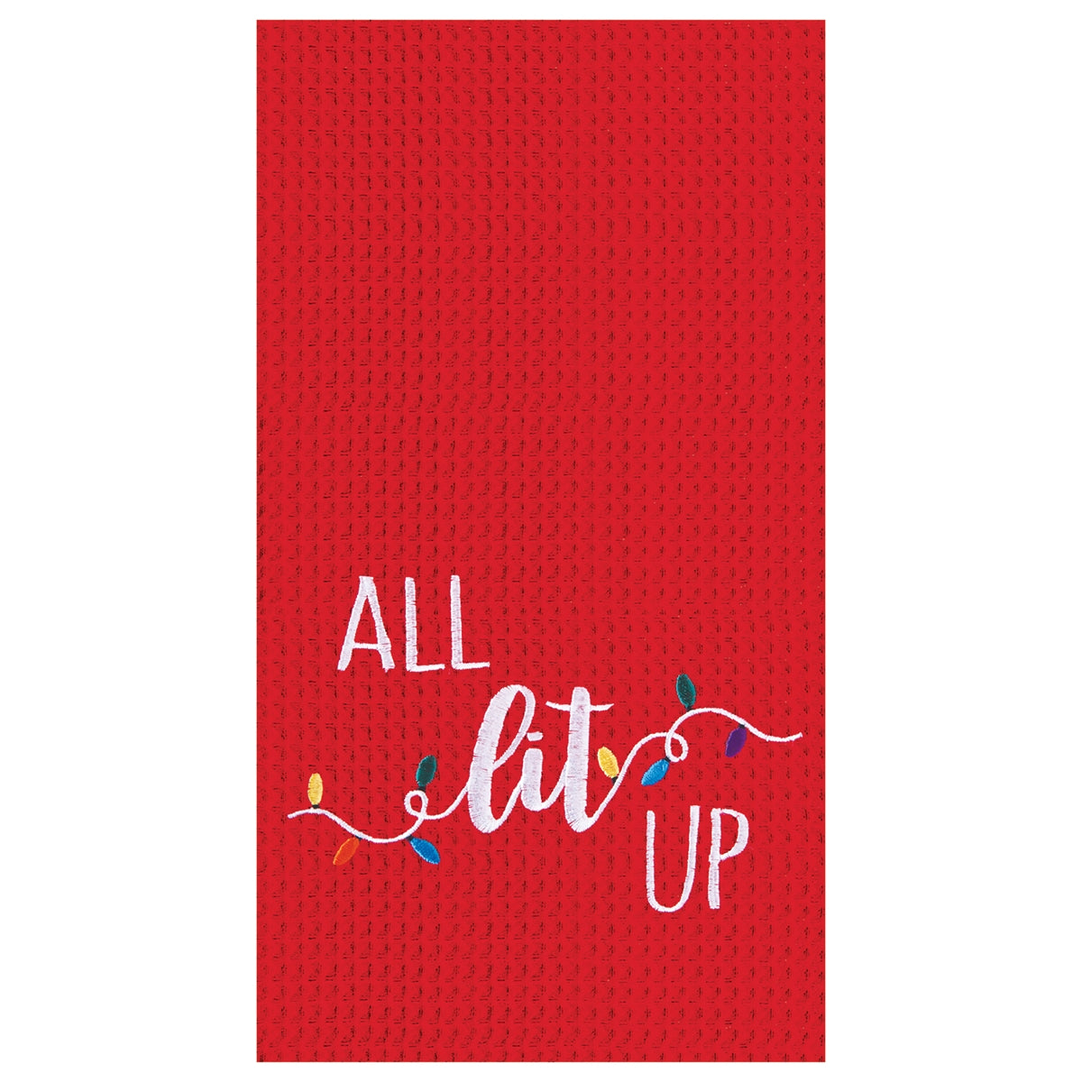 ALL lit UP Kitchen Towel