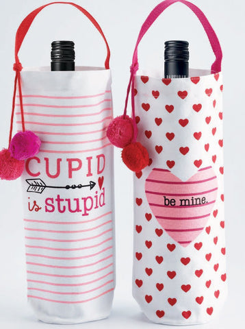 Valentine Printed Bottle Bags (2 styles available)
