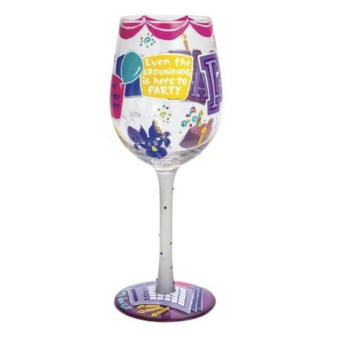 Lolita Months of the Year Wine Glasses - Time Your Gift - 10