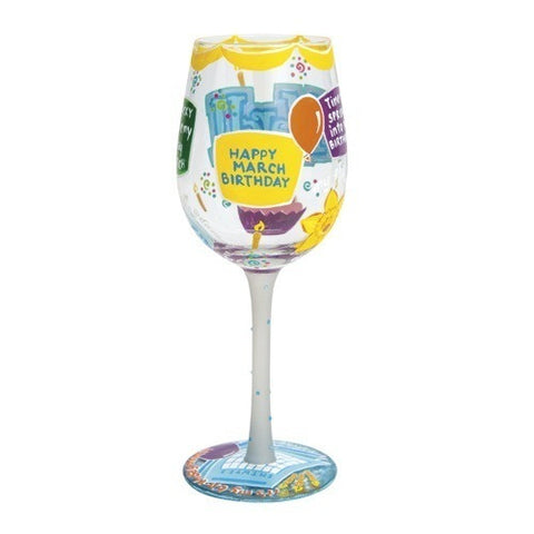 Lolita Months of the Year Wine Glasses - Time Your Gift - 12