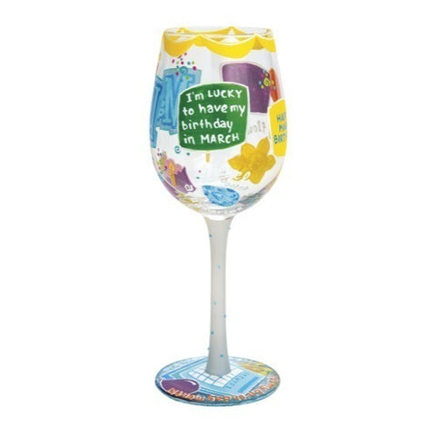 Lolita Months of the Year Wine Glasses - Time Your Gift - 13