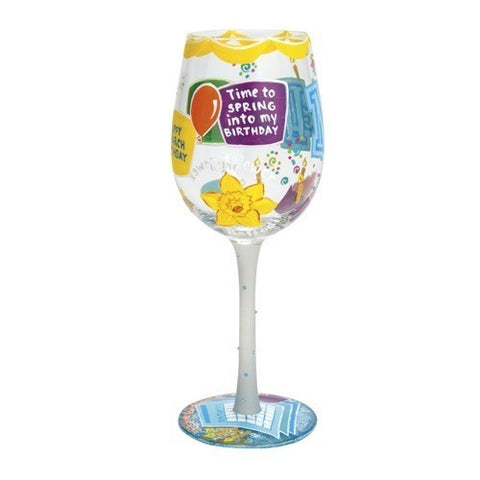 Lolita Months of the Year Wine Glasses - Time Your Gift - 14