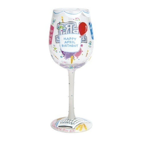 Lolita Months of the Year Wine Glasses - Time Your Gift - 16