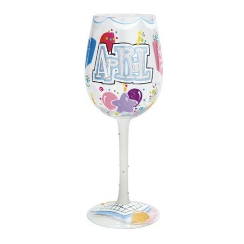 Lolita Months of the Year Wine Glasses - Time Your Gift - 19