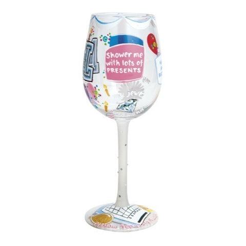 Lolita Months of the Year Wine Glasses - Time Your Gift - 17