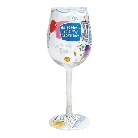 Lolita Months of the Year Wine Glasses - Time Your Gift - 18