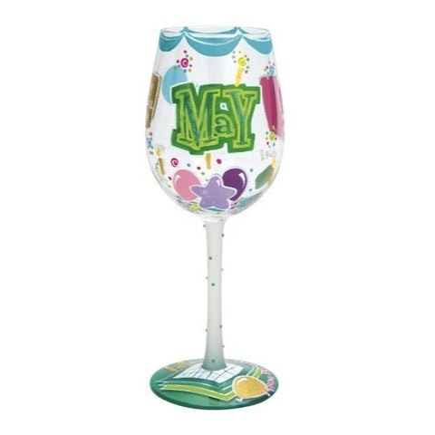 Lolita Months of the Year Wine Glasses - Time Your Gift - 23
