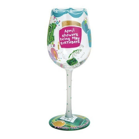 Lolita Months of the Year Wine Glasses - Time Your Gift - 22