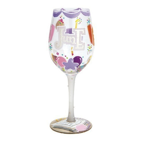 Lolita Months of the Year Wine Glasses - Time Your Gift - 27