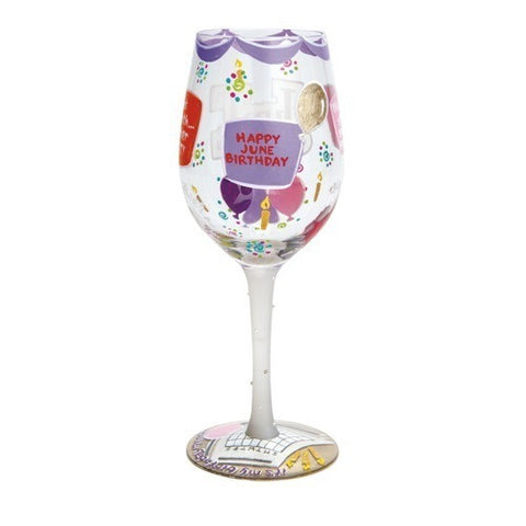 Lolita Months of the Year Wine Glasses - Time Your Gift - 24