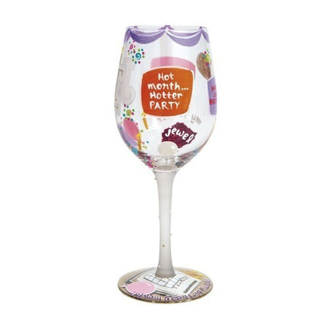 Lolita Months of the Year Wine Glasses - Time Your Gift - 26
