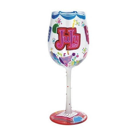 Lolita Months of the Year Wine Glasses - Time Your Gift - 31