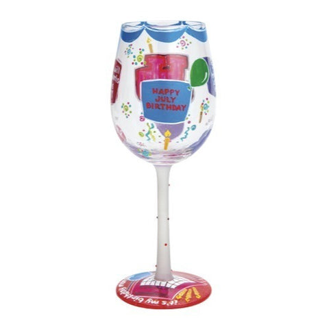 Lolita Months of the Year Wine Glasses - Time Your Gift - 28