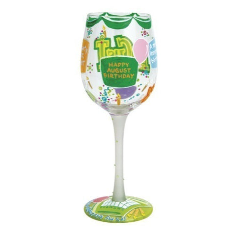 Lolita Months of the Year Wine Glasses - Time Your Gift - 32