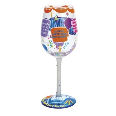 Lolita Months of the Year Wine Glasses - Time Your Gift - 35