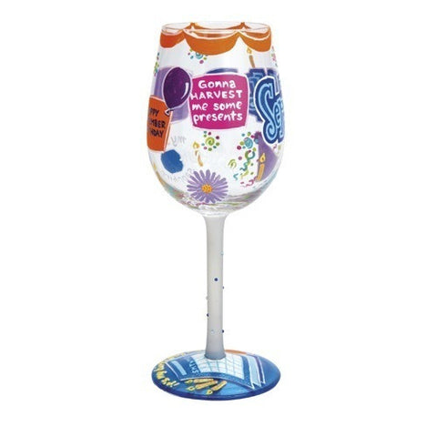 Lolita Months of the Year Wine Glasses - Time Your Gift - 37
