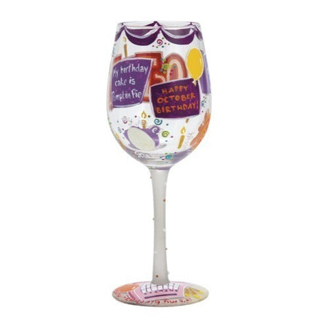 Lolita Months of the Year Wine Glasses - Time Your Gift - 38