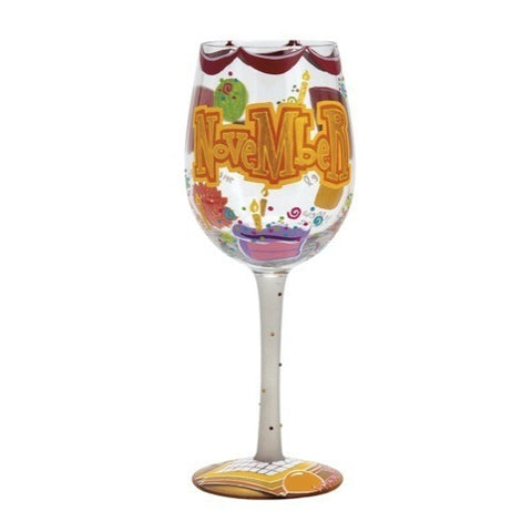 Lolita Months of the Year Wine Glasses - Time Your Gift - 43