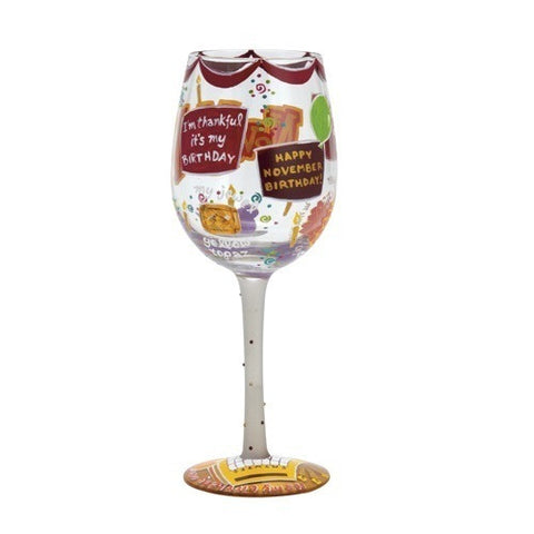 Lolita Months of the Year Wine Glasses - Time Your Gift - 41