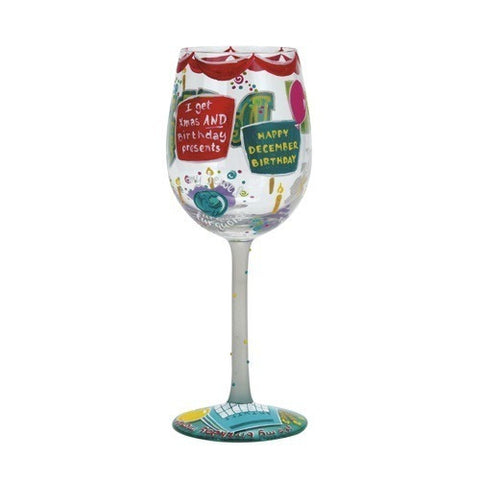 Lolita Months of the Year Wine Glasses - Time Your Gift - 44