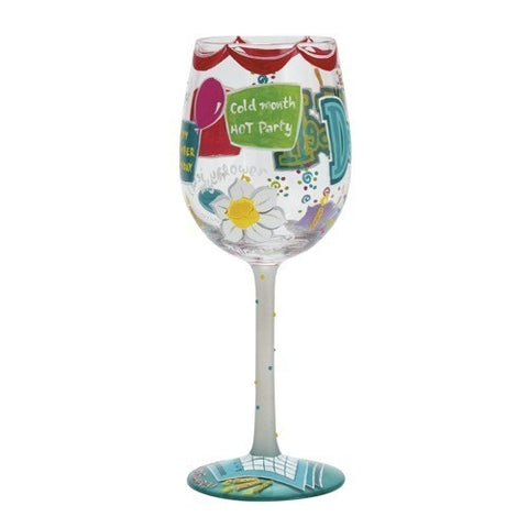 Lolita Months of the Year Wine Glasses - Time Your Gift - 45