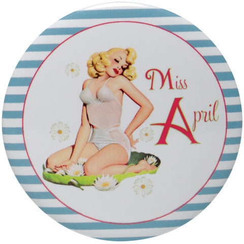 Calendar Girl Purse Mirror - Time Your Gift - 5