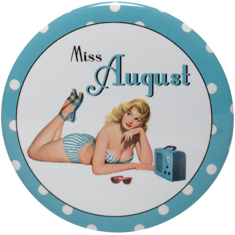 Calendar Girl Purse Mirror - Time Your Gift - 9