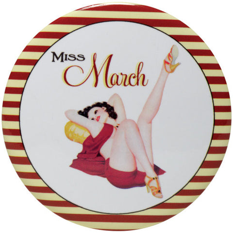 Calendar Girl Purse Mirror - Time Your Gift - 4