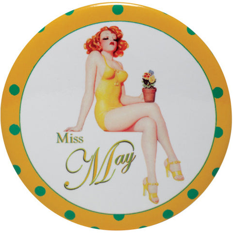 Calendar Girl Purse Mirror - Time Your Gift - 6
