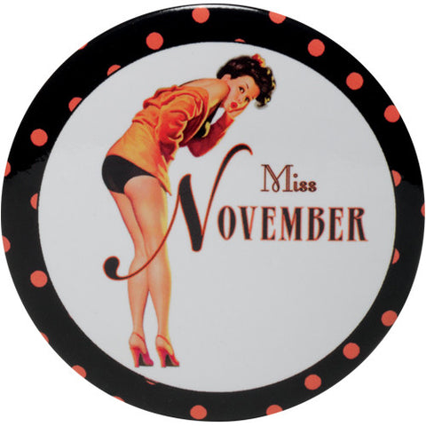 Calendar Girl Purse Mirror - Time Your Gift - 11
