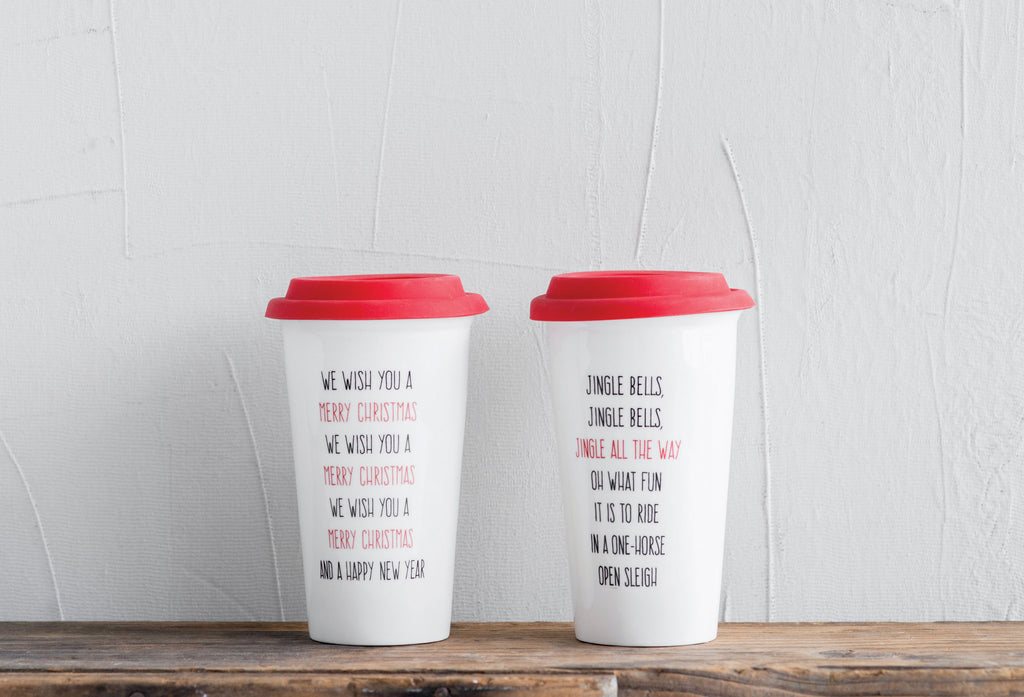 Christmas Travel Mugs