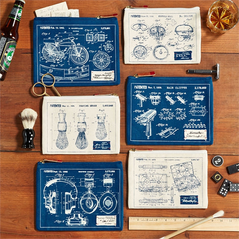 Blueprint Pouches - Set of Two