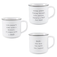 Dad Mugs from Mud Pie
