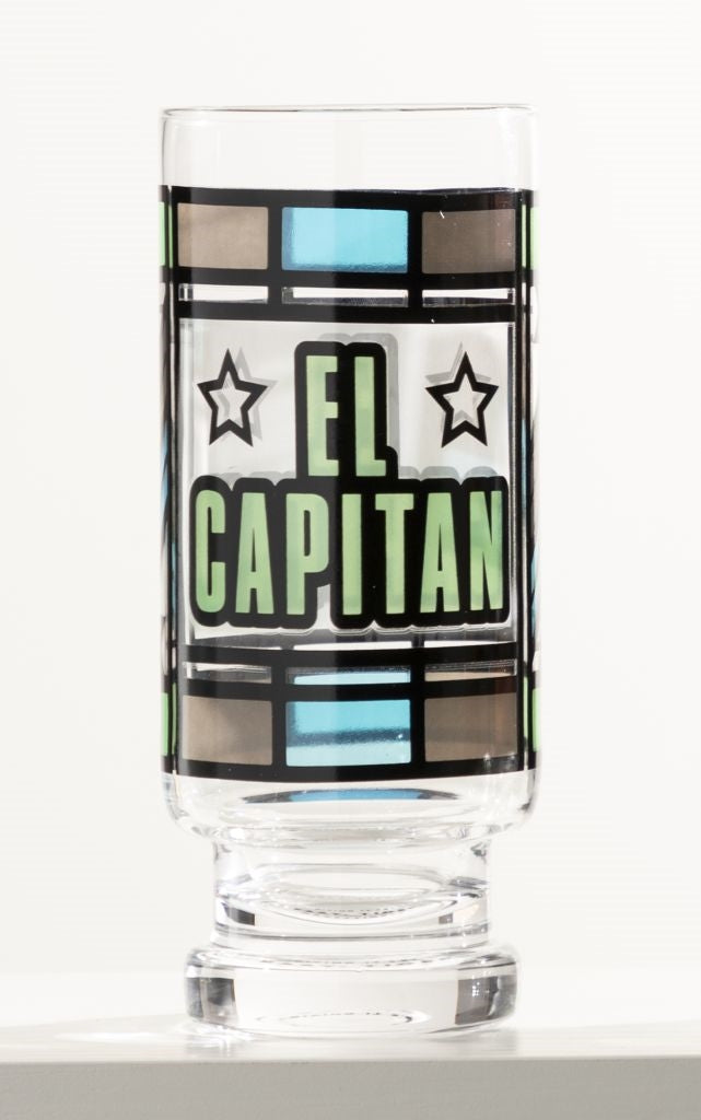 El Capitan Beer Glass