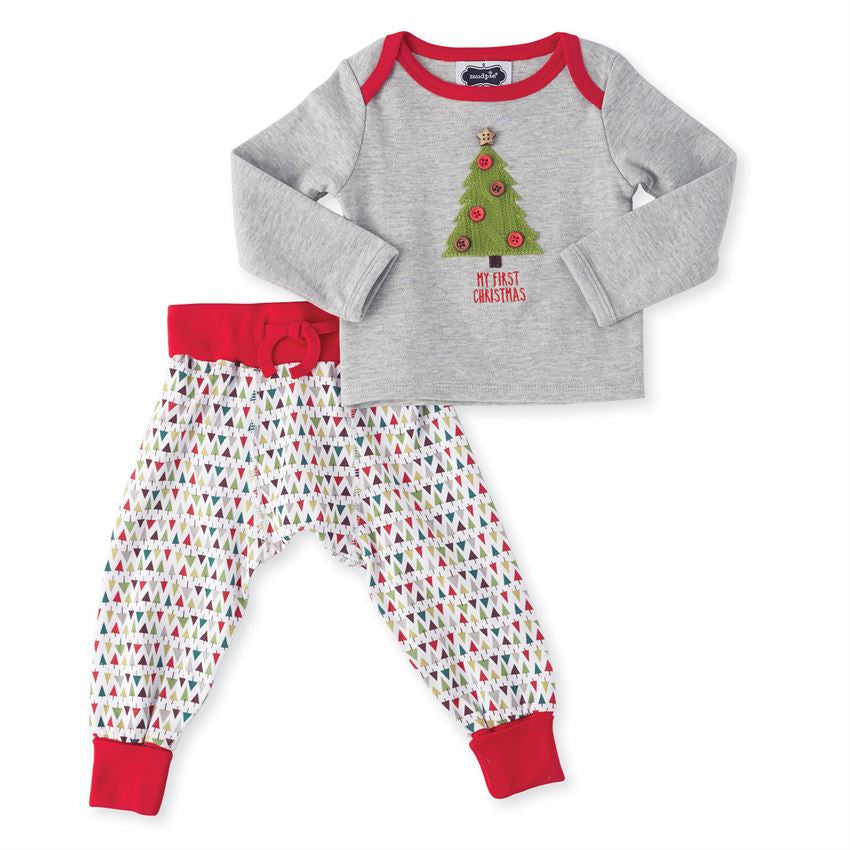 My First Christmas Tree Two-Piece Set