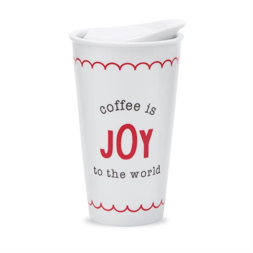 Holiday Travel Mugs from Mud Pie