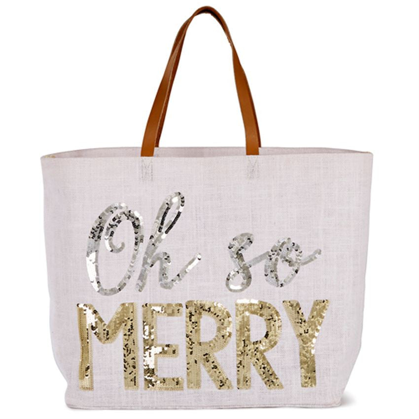 Happy Holidays Tote - Time Your Gift - 2