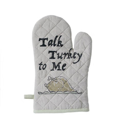 Talk Turkey To Me Oven Mitt