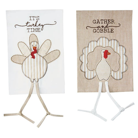 Turkey Dangle Leg Linen Towels (sold separately)