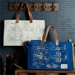 Blueprint Weekender Bag (2 Styles Available)