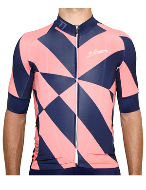 Amalfi Geo Coral/Navy Jersey