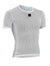 Mesh Short Sleeve Base Layer - White