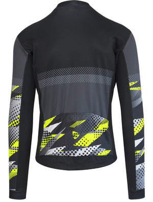 TEAM Long Sleeve Jersey - Yellow Flouro