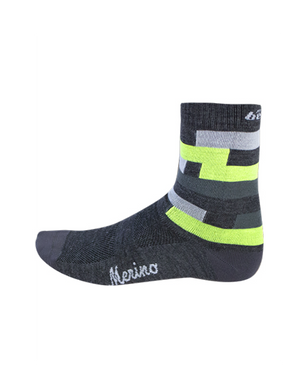 Team Merino Winter Socks - Yellow