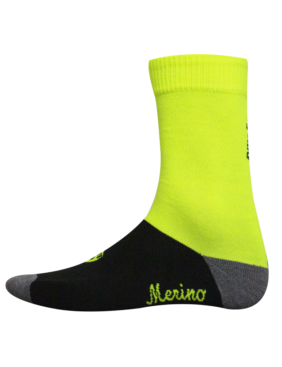 Bora Merino Winter Socks - Yellow